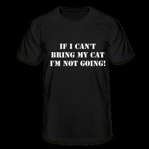 Tshirt Not Without My Cat-Svart Tshirt Herr