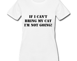 Not Without My Cat! T-Shirt Dam