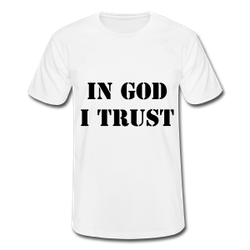 In God I Trust Herr T-Shirt