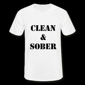 Clean & Sober Herr T-Shirt
