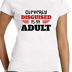 Disguised Adult T-Shirt Dam