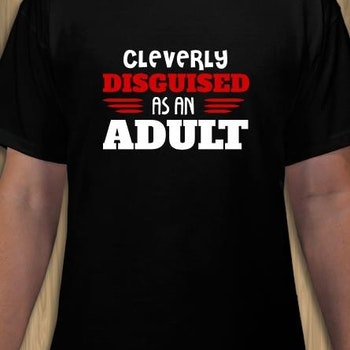 Disguised Adult T-Shirt Herr