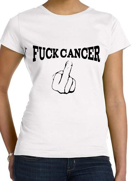 Tshirt Fuck Cancer-