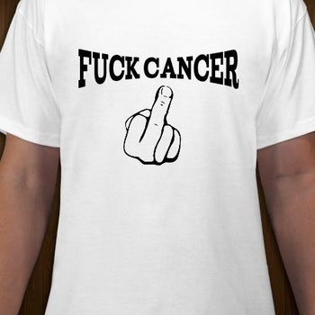 Fuck Cancer T-Shirt Herr