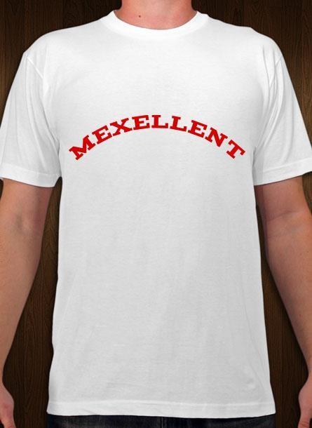 Tshirt Me Xellent-Vit Tshirt Herr