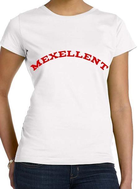 Tshirt Me Xellent-Vit Tshirt Dam