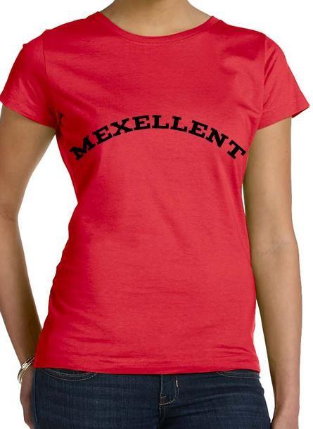Tshirt Me Xellent-Röd Tshirt Dam