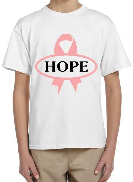 Tshirt Hope-Vit Tshirt Dam