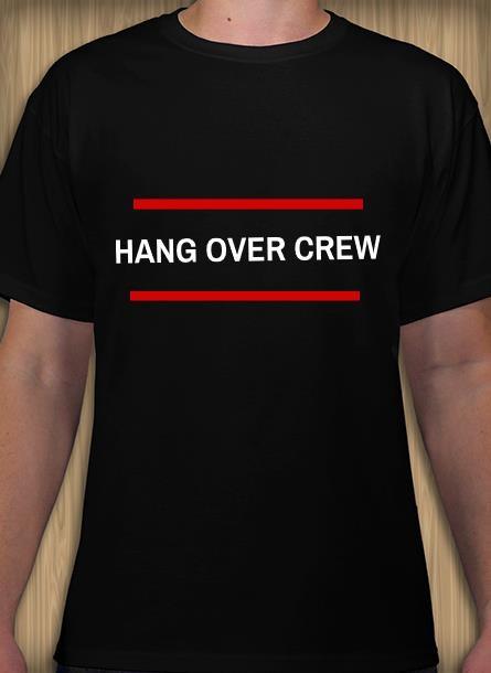 Tshirt Hangover-Svart Tshirt Herr