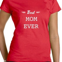 Best Mom T-Shirt Dam