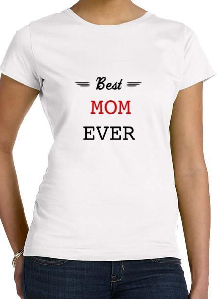 Tshirt Best Mom-Vit Tshirt Dam
