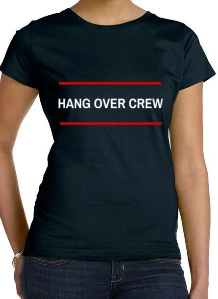 Tshirt Hangover-Svart Tshirt Dam