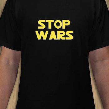 Stop Wars T-Shirt Herr