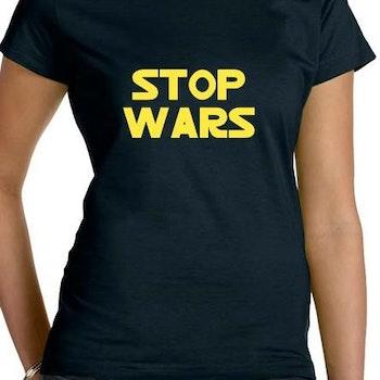 Stop Wars T-Shirt Dam