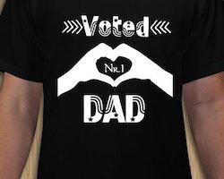 DAD Voted Nr1 T-Shirt Herr