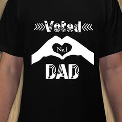 DAD Voted Nr1 T-Shirt Herr