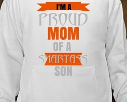 Proud Mom Of A Smart Ass Son Hoodie