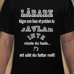 Lärare T-Shirt Herr