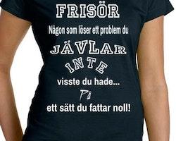 Frisör T-Shirt Dam