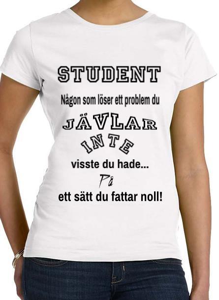 Tshirt Student-Vit Tshirt Dam