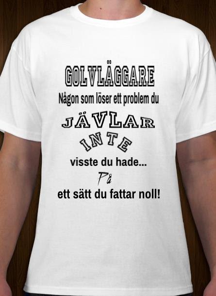 Tshirt Golvläggare-Vit Tshirt Herr