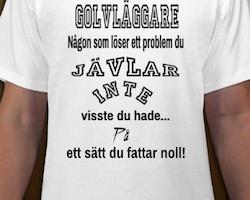 Golvläggare T-Shirt Herr