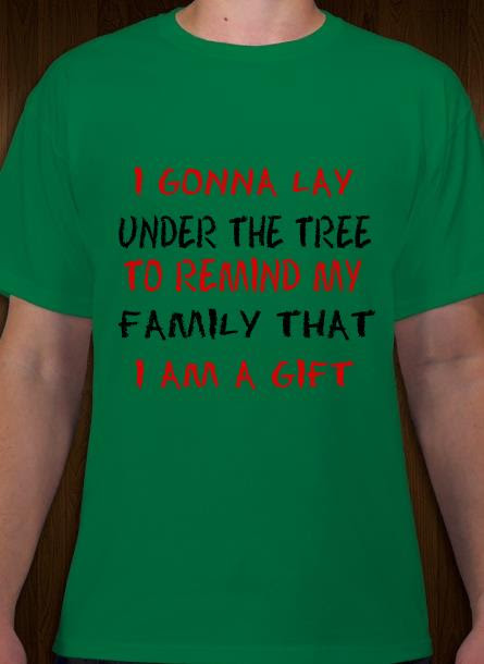 T-Shirt-Remind My Family-Grön Tshirt Herr