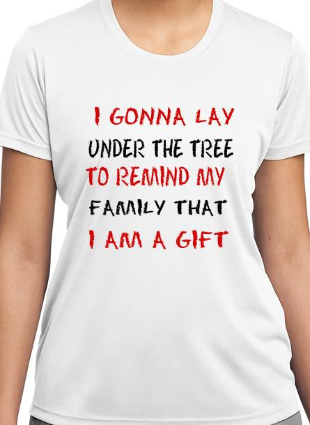 T-Shirt Remind My Family-Vit Tshirt Dam