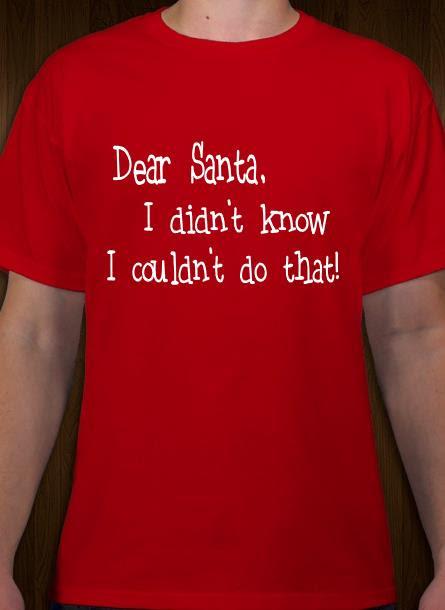 T-Shirt-Jultomten-Röd Tshirt Herr