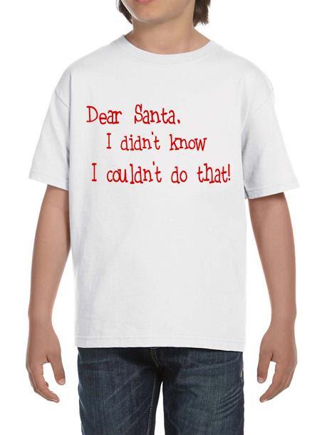 T-Shirt-Santa-Vit-Tshirt Barn