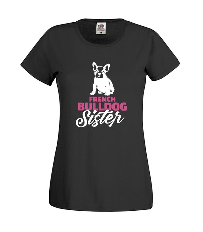 Fransk Bulldog Sister T-Shirt Barn