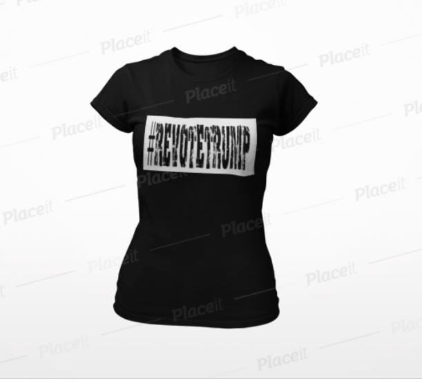 T-Shirt-RevoteTrump-Damtshirt5