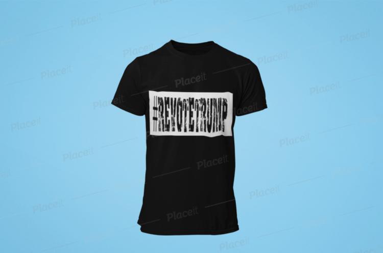 ReVote Trump T-Shirt Herr