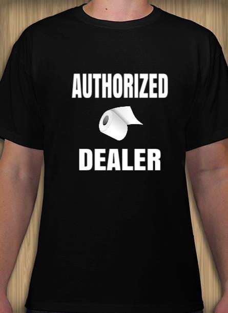 T-Shirt Herr Toalettpapper Tshirtherr