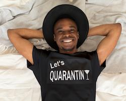 Let's Quarantini T-Shirt Herr