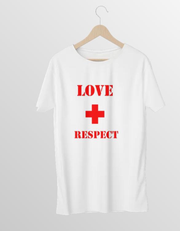 Love & Respect T-Shirt Dam