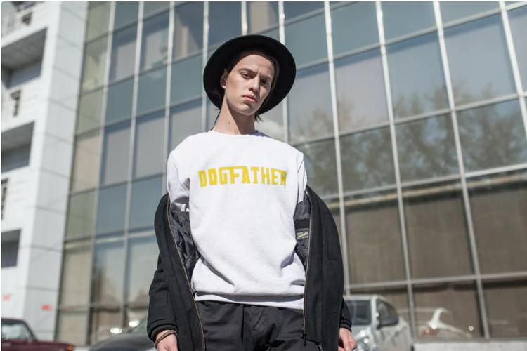 Sweatshirt-Dogfather-Vit-Unisex-Sweatshirt