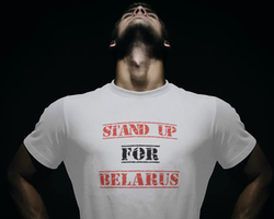 Stand Up For Belarus T-Shirt Herr