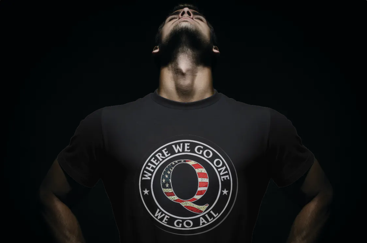 Q One all Go-Stars T-Shirt Herr-Svart