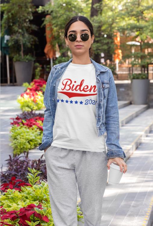 Biden Support T-Shirt  Dam