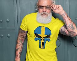Swedish Skull T-Shirt Herr