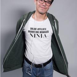 Online Affiliate Manager T-Shirt Herr