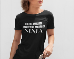 Affiliate Manager T-Shirt  Dam