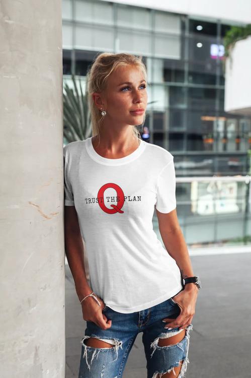 Trust The Plan T-Shirt Dam Vit