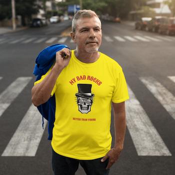 My Dad Rocks T-Shirt Herr