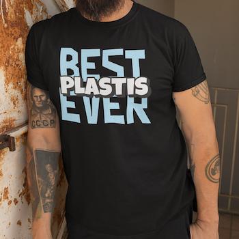 """Best """"Plastis"""" Ever T-Shirt Herr"""