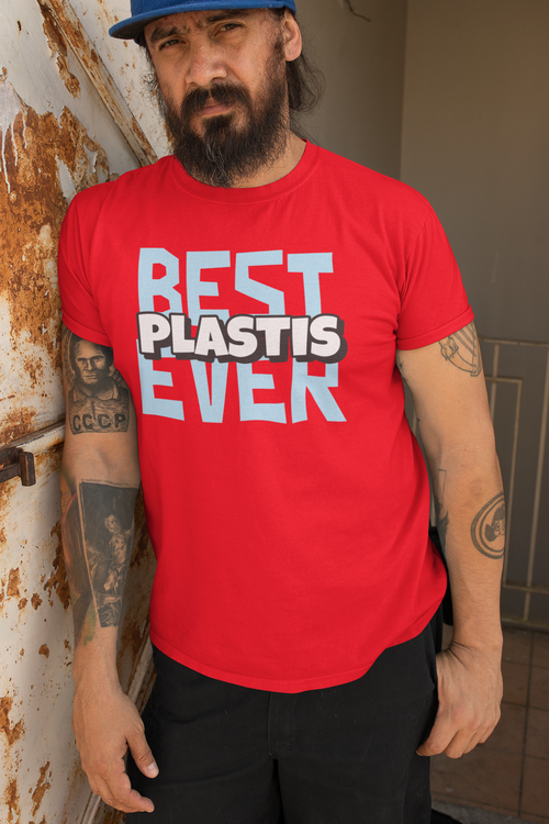 "Best ""Plastis"" Ever T-Shirt Herr"