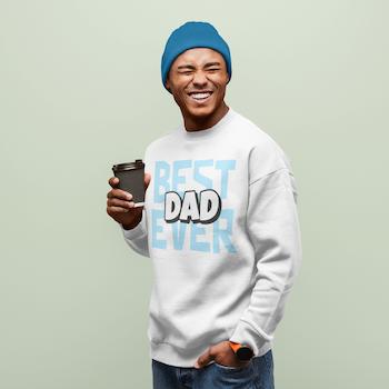 Best Dad Sweatshirt Unisex