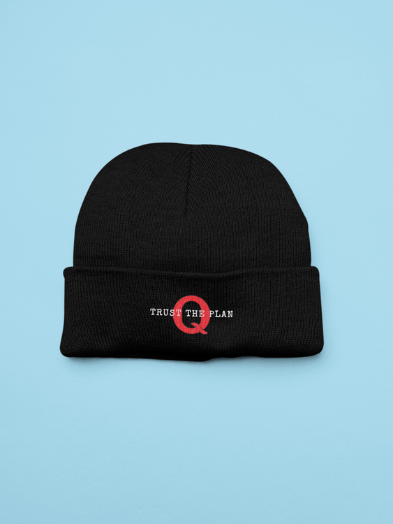 Trust The Plan Beanie One Size