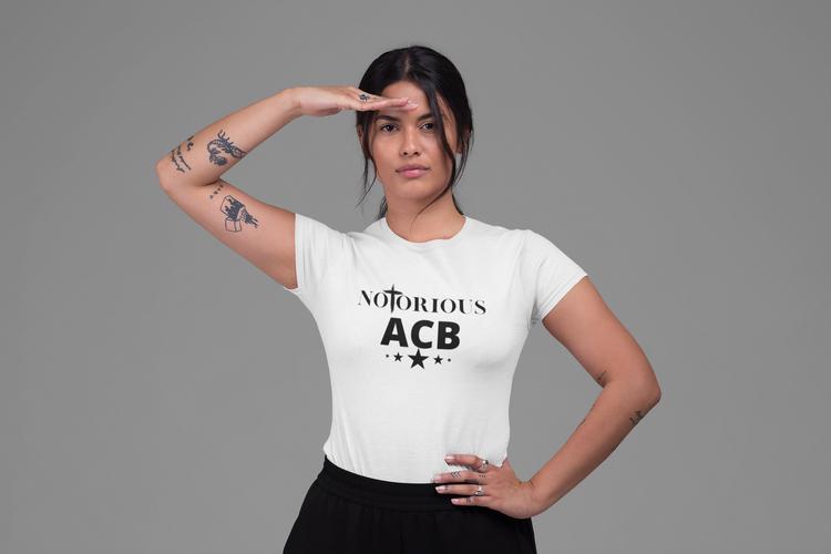 Notorious Amy Coney Barrett Tshirt-Vit